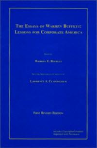 the essays of warren buffett edited by richard cunningham